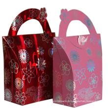 Sac cadeau en papier pour l'emballage et le shopping