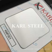 Feuille de 8k Kmf001 de miroir de couleur d'acier inoxydable pour des matériaux de décoration