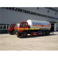 6x4 25 M3 Propane Gas Tank Trucks