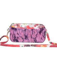 Girl small printing crossbody purse messenger bag