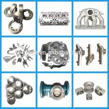 Pièces de moulage par gravité en aluminium de conception adaptée aux besoins du client de conception de commande numérique par ordinateur