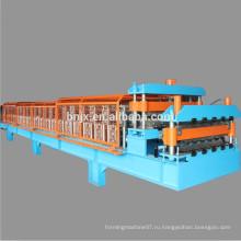 Высокоскоростная двухслойная настенная / крыша панельная формовочная машина