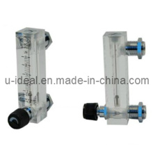 Medidor de fluxo de acrílico montado em painel - Rotameter indicador de fluxo