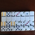 Professional High Quality Double 12 plastic dominoes