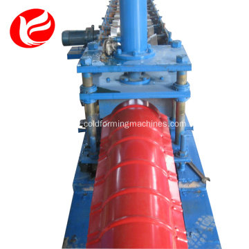 New Arrival for Ridge Cap Making Machine 312 ridge cap roof tile cold roll making forming machine export to Ghana Factory