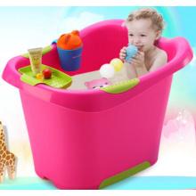 Los niños grandes y profundos cubo de baño noble con asiento