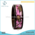 Les anneaux de fiançailles Realtree pink camo pour lui