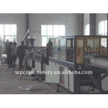 Linha de produção de perfil de PVC para estrutura e porta de janela
