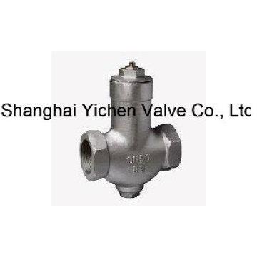Válvula de coletor de vapor com rosca de parafuso de temperatura constante ajustável (CS17H)