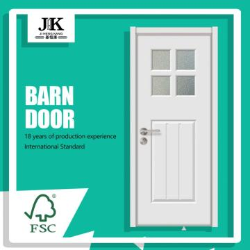 JHK-G32 Cafe Cheap Interior Glass Accordian Door