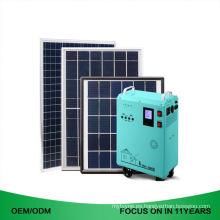 1.5Kw 80Ah 8000W 600W 100Ah 200W 700W Sistema de energía solar casero barato 6Kw