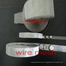 Vários tipos de material fone de ouvido malha em tipo tecer, tipo expandido, tipo perfurado