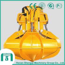 Grappin hydraulique pour minerais fonte fer des déchets et des déchets