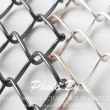 Malla de alambre galvanizada de enlace de cadena