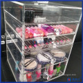 China Manufacturer Acrylic Makeup Box with 5 Drawers
