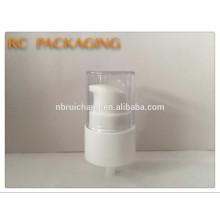 Nouveau modèle pompe à lotions en plastique pompe à crème cosmétiques à vis à 20 mm