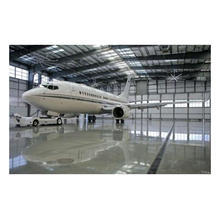 Prefabricated Light Steel Structure Airplane Hangar