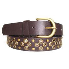 Fashion Lady′s Rivet Leather Belt Ky1808