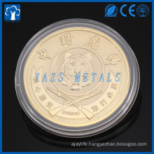 New design professional custom plated gold coin