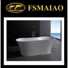 Modern Design Boat-Shape Stone Resin Bath Tub (BS-8601)