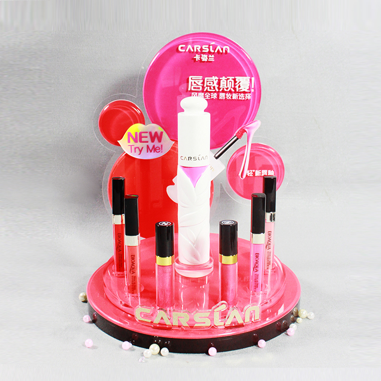 Round Liquid Lipstick Stand Holder