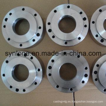 OEM CNC que trabaja a máquina el reborde forjado de la fabricación de metal