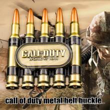 Bullet metal heavy duty cinto fivela