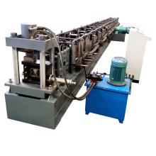 Faire la palette de Supermaket d'entrepôt roule le petit pain vertical de support de stockage d'étagère en métal formant la machine