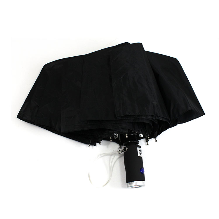 Automatic men 2 folding umbrella04
