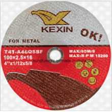 Abrasives Cut off Wheel for Metal 100*2.5*16mm