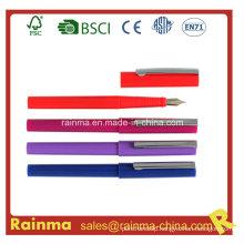 Colod Plastic Fountain Pen with Nice Design