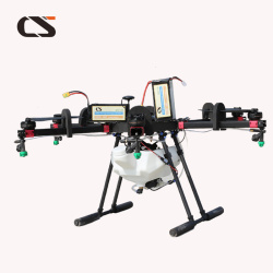 long range Carbon Fibre CS 10kg Agriculture UAV