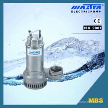 Bomba de aguas residuales anti-corrosión de acero inoxidable de Mbs