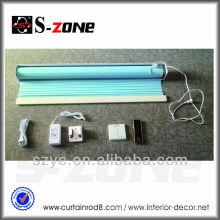 Receptor interno, motor tubular, persianas, acessórios para ferragens, bom tecido, sistema de persianas anti-roubo