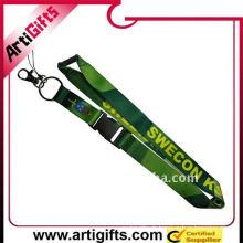 lanière de nylon de chaîne principale de transfert de chaleur verte