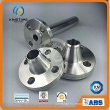 Brida forjada Ss del reborde del labio de acero inoxidable a ASME B16.5 (KT0334)