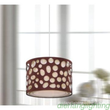 Popular single pendant lamp ,pp shade E27 lampholder