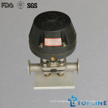 Sanitary Stainless Steel Pneumatic Diaphragm Valve (new design)