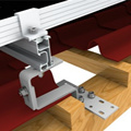 Solar Mounting Brackets For Tile Roof System