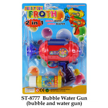 Divertido juguete burbuja pistola de agua