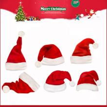 Sombrero de felpa mini Navidad de Santa Claus para niños Navidad 2016