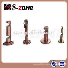 SZONE BD04 Soporte doble metal de 19 y 22mm para varillas de cortina