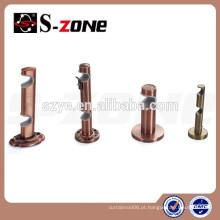 SZONE BD04 19 & 22mm suporte duplo metal para varetas de cortina