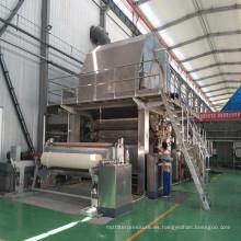 Máquina de fabricación de papel higiénico de papel higiénico de tamaño de rollo Jumbo