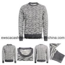 Чистого кашемира вязаный свитер с Тигровыми полосами