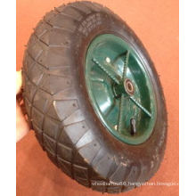 High Quality Wheel Barrow Air Wheel (350-8)