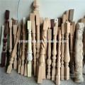 escalera de madera balaustre spinles newel post barandilla