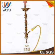 Stainless Steel Water Pipes Nargile Tobacco Golden Shisha Hookah