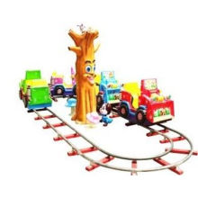 Castle Engineering Train Kiddie Rides Simulator For Amusement Center Tr-qf041
