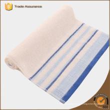 Venta al por mayor de China hilado tintado o rayas algodón cocina toallas de té
